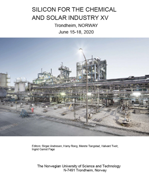 Si Conference: Silicon for the Chemical and Solar Industry XVI – 14 -16 June 2020