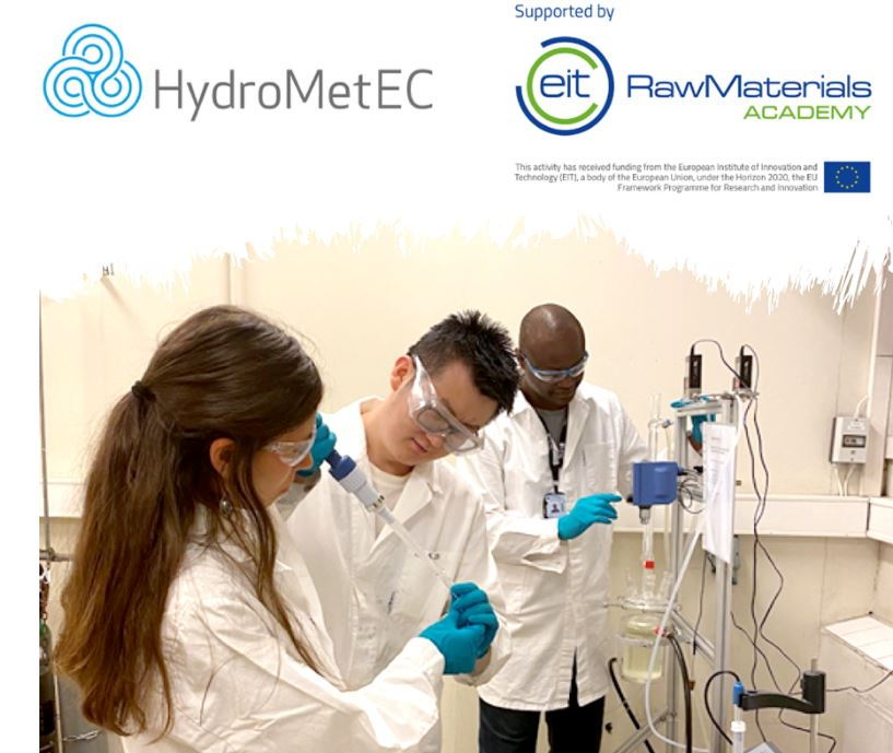 Online course HydroMetEC – Hydrometallurgy in raw materials utilization
