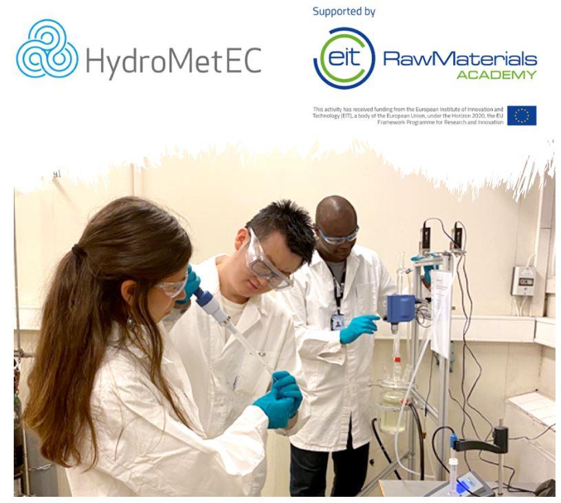 Advanced course in Hydrometallurgy in raw materials utilization